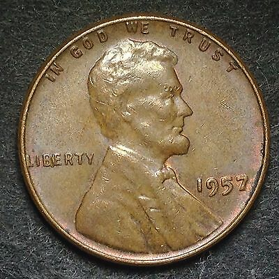 USA 1957 1 Cent (Lincoln, Wheat Reverse) / 1974