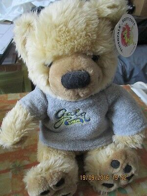 Collectable Gala Bingo Plush Teddy Bear, wearing Removeable Hoodie approx 10""