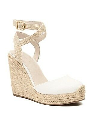 Kristina Wedge Canvas Shoes White Size 39 Witchery Sold Out BNIB w Receipt
