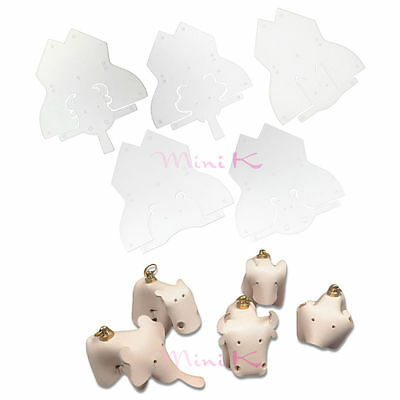 Animals DIY Leather Craft Template Clear Leathercrafts Plastic PVC Module Board