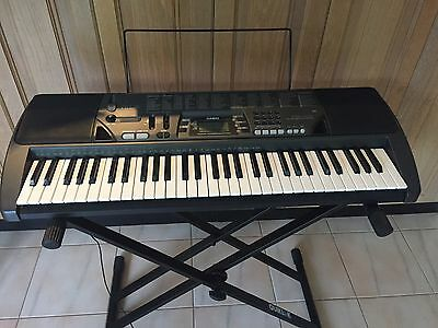 CASIO CTK-700 Electronic Keyboard with Quik Lock Stand