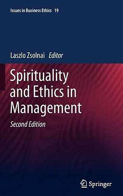 Spirituality and Ethics in Management by Hardcover Book (English)