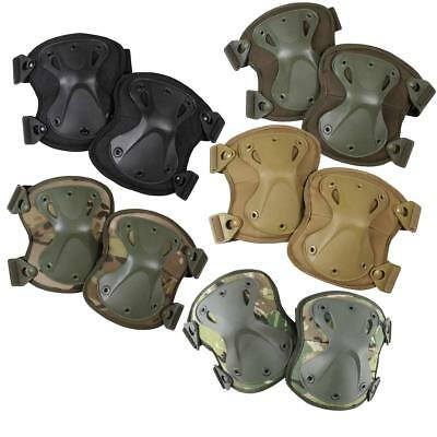 Kombat Army Style Hard XPD Knee Pads Protection Airsoft Security Work Padded