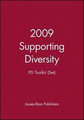 2009 Supporting Diversity by Jossey-Bass Paperback Book