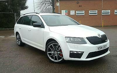 2014 14 Skoda Octavia 2.0 TSI vRS 5 DOOR PETROL MANUAL