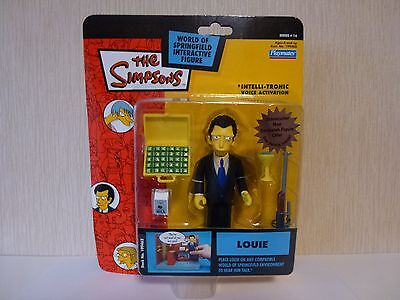 Simpsons World of Springfield WoS Interactive Action Figure Louie