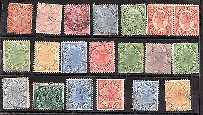 Australia QV Australian States unchecked collection JB10