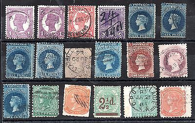 Australia QV Australian States unchecked collection JB14