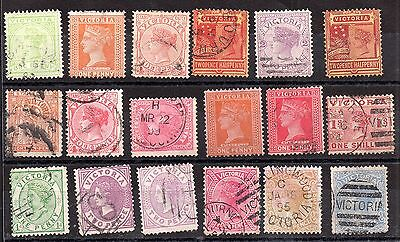 Australia QV Australian States unchecked collection JB23