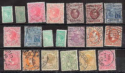Australia QV Australian States unchecked collection JB27