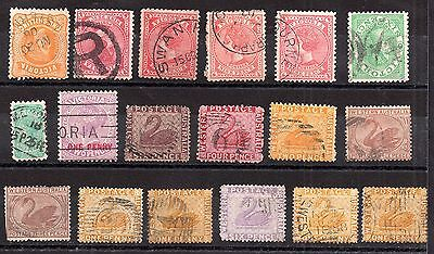 Australia QV Australian States unchecked collection JB29