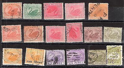 Australia QV Australian States unchecked collection JB32