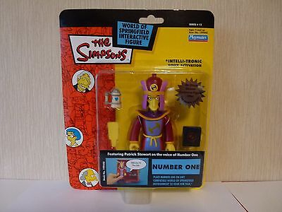 Simpsons World of Springfield WoS Interactive Action Figure Number One