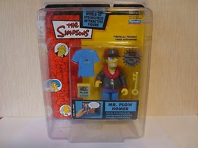 Simpsons World of Springfield WoS Interactive Action Figure Mr Plow Homer