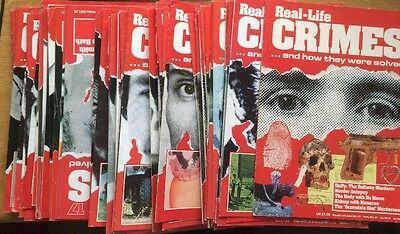 Real-life Crimes Magazine Collection Job Lot x 60 Issues