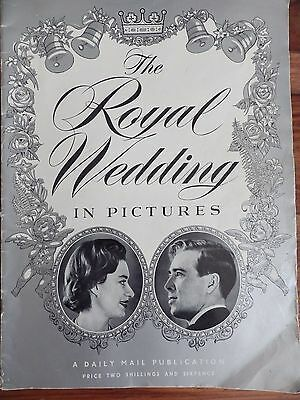 DAILY MAIL The Royal Wedding Of HRH Princess Margaret 1960
