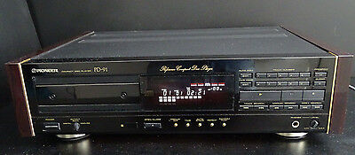 Pioneer Pd-91 Reference Cd-Player Legend Vintage