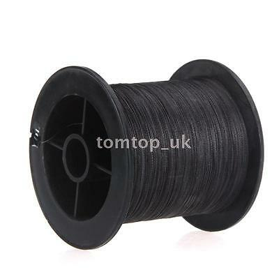 300M 50LB 0.26mm Fishing Line Strong Braided 4 Strands Black Y6T8