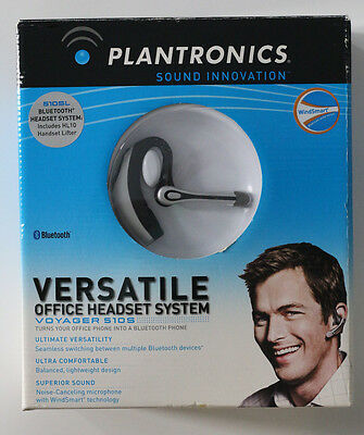 Plantronics Voyager 510S Bluetooth Headsert & Office Phone System