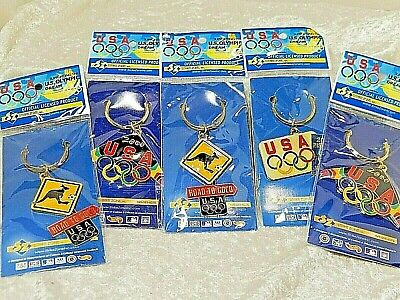 USA Olympic 2000 Key Rings Lot of four unopened