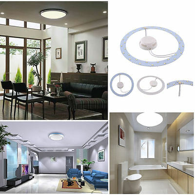 18W 5730 LED Panel Circle Annular Ceiling Light Fixture Board Lamp Replacement x