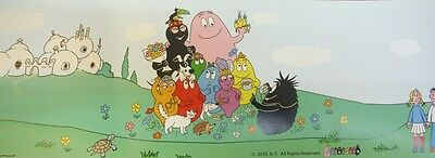 Barbapapa Border - Children's Wall Frieze - Self - Adhesive - 11105504