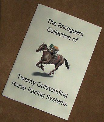 Racegoers Collection of 20 Outstanding Horse Racing Systems Book (40% Discount)