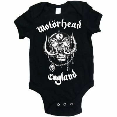 Motorhead 'England' Baby Grow - NEW & OFFICIAL!