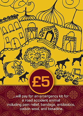 TOLFA Animal Charity Gift Voucher - £5 for a road accident emergency kit