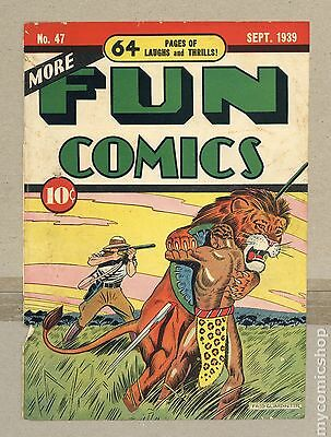 More Fun Comics (1935) 47 Front Cover Only