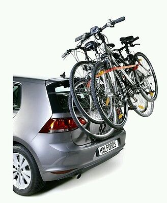 Halfords Rear High Mount 3 cycle carrier / bike rack for car
