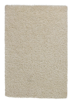 Think Rugs Vista Shaggy Cream Runner - 67 x 200 cm