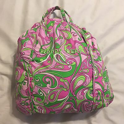 FLOPPY SEAT Pink Green Paisley ~ Shopping Cart High Chair Cover ~ Girls