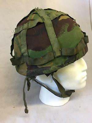 British Army GS Mark 6 Helmet With DPM Cover Issued Military