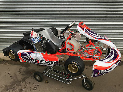 2016 Otk Exprit Tony Go Kart Chassis With Rotax Max Engine  - Rotax