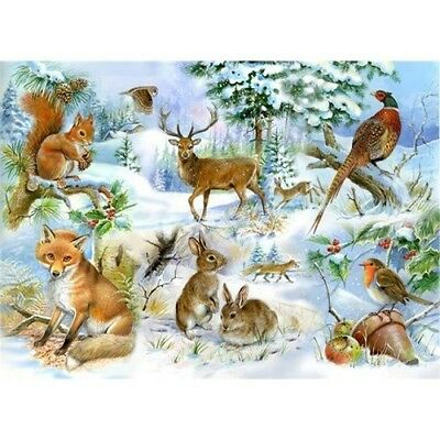 House Of Puzzles Midwinter - Extra Large Jigsaw Puzzle
