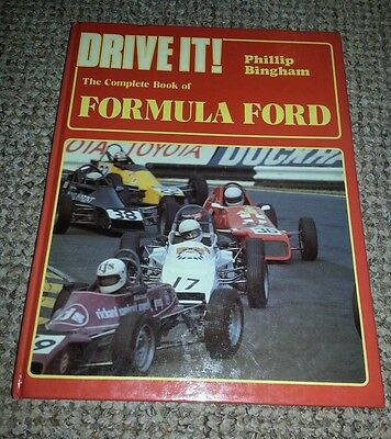 Drive It! The Complete Book of Formula Ford Very Good Condition FREE POSTAGE