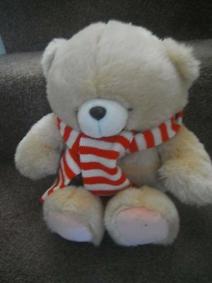 """Forever Friends Bear With Striped Scarf 13"""" High Approx."""