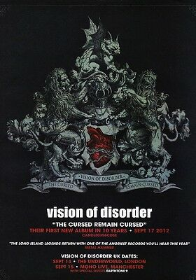 VISION OF DISORDER The Cursed Remains Cursed PHOTO Print POSTER Imprint Shirt 01
