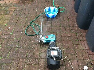 CAT Pressure Washer,  Pump and 240 Volt, Electric motor.