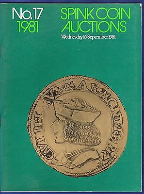 Spink Coin Auction Catalogue,  Sale No. 17, September 1981 (Ref. t0306)