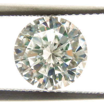 2.50Ct (8.25mm) Round Cut My Russian Diamond Simulated Lab Created Loose Stone