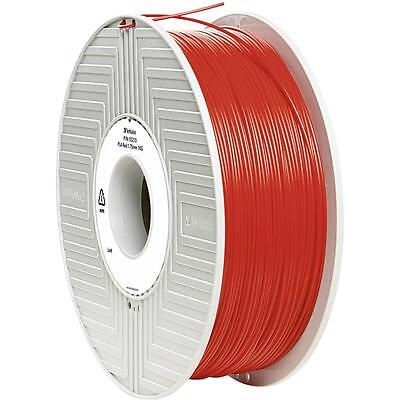 Verbatim PLA 3D Printing Filament 1.75mm 1kg Reel Red