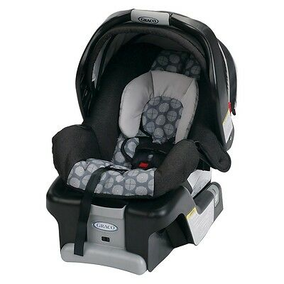 New Graco Snugride Classic Connect 30 Infant Car Seat- Fiji Pattern