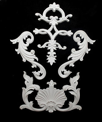 Ornate Moulding Wall Panelling Large Banguet Hall Interior Decoration Resin New