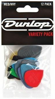 Jim Dunlop Variety 12 Pack of Guitar Picks - Medium/Heavy