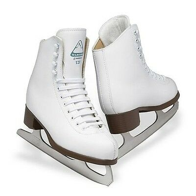 New Jackson GSU120 Glacier 120 Ladies Figure Skates Traditional White Sizes 5-10