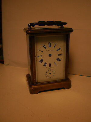 couailler freres carriage clock french