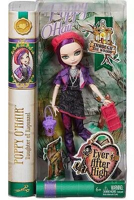 Ever After High Doll Through the Woods Poppy O Hair