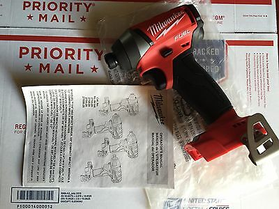 NEW 2753-20 2nd GEN Milwaukee M18 Fuel Impact Driver Brushless 18V Repl 2653-20
